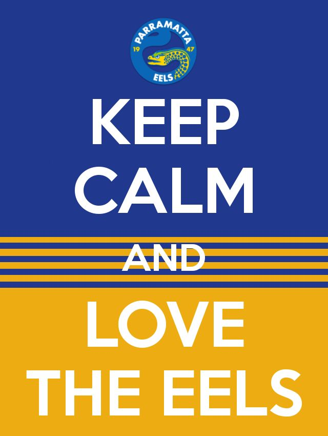 Keep Calm And Love The Eels