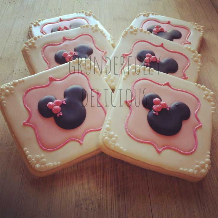 Minnie cookies   Cookie Connection
