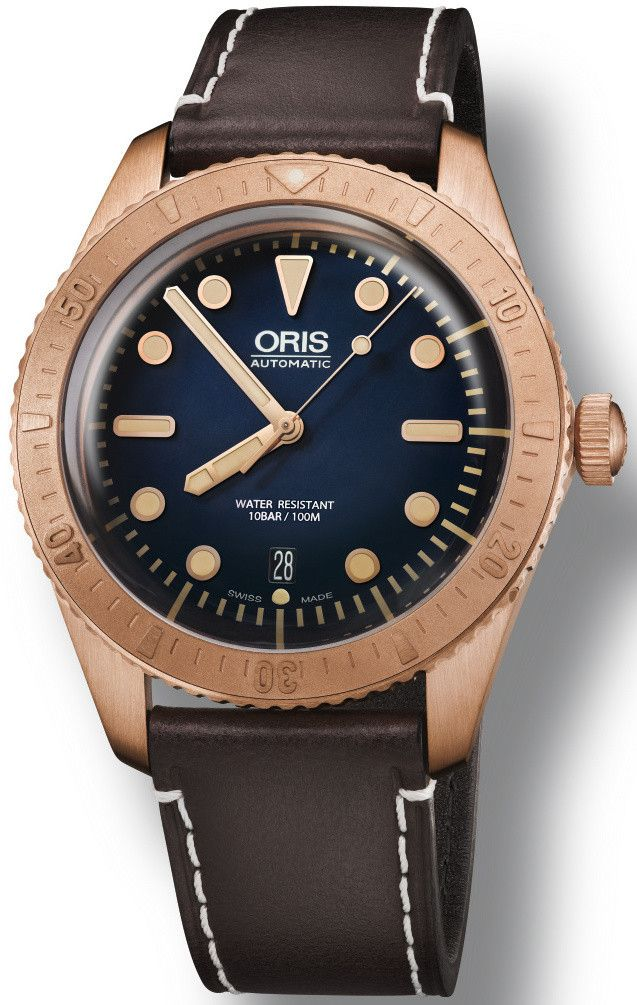 Oris Watch Carl Brashear Limited Edition #bezel-fixed #bracelet-strap-leather #brand-oris #case-material-rose-gold-pvd #case-width-40mm #date-yes #delivery-timescale-call-us #dial-colour-blue #gender-mens #limited-edition-yes #luxury #movement-automatic #new-product-yes #official-stockist-for-oris-watches #packaging-oris-watch-packaging #pre-order #pre-order-date-30-04-2016 #preorder-april #style-dress #subcat-divers #subcat-limited-editions #supplier-model-no-01-733-7720-3185-set-ls…