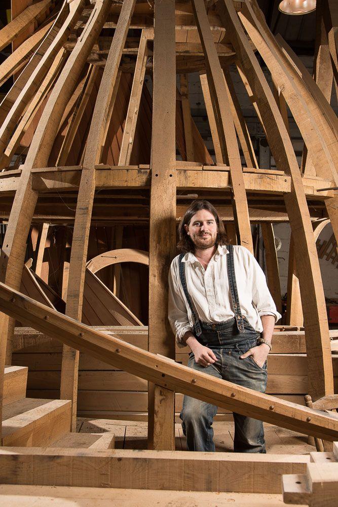 William Hardie...master craftsman and George's Design sidekick