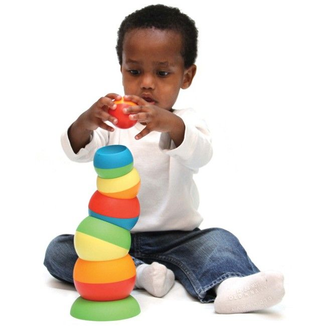 Fat Brain Toy Co - Tobbles Stacking