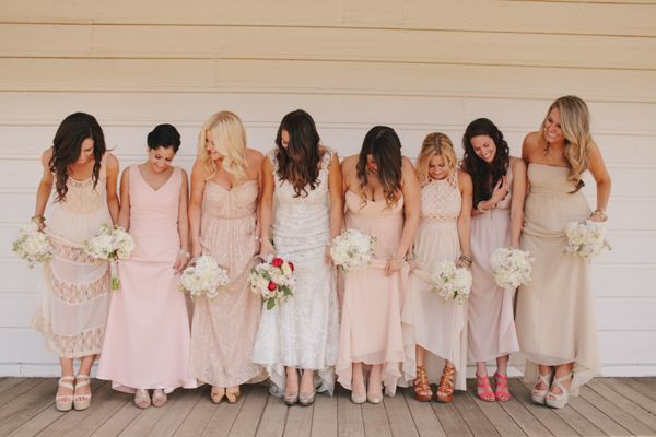 Best 25+ Different Bridesmaid Dresses Ideas On Pinterest