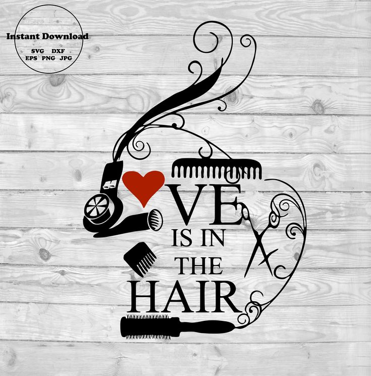 Download Love Is In The Hair SVG, Love svg, Love Is In The Air svg ...