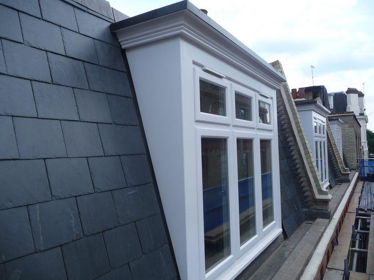 Best 25 mansard roof ideas on pinterest red brick for Modern mansard roof