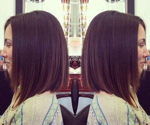 Straight+A-Line+Bob+Haircut+for+Shoulder+Length+Hair