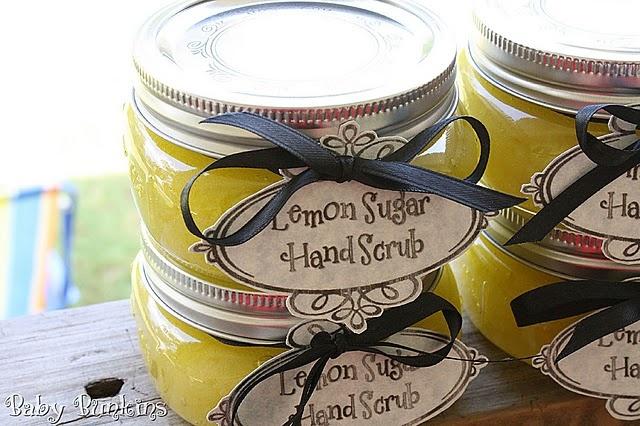 Lemon Sugar Hand Scrub