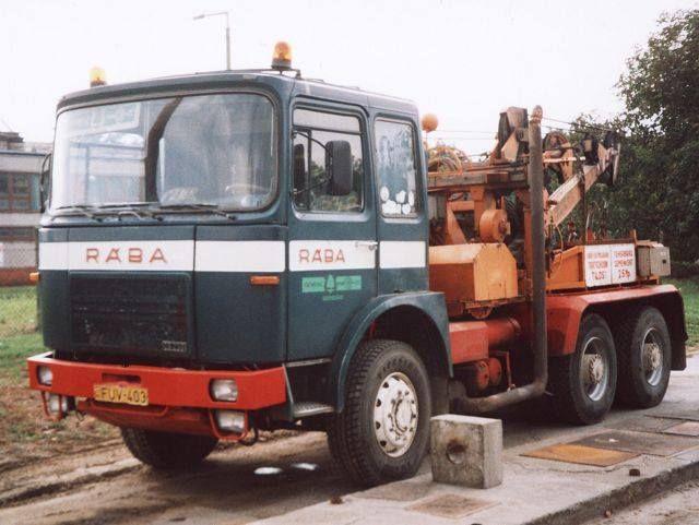 RABA,oldtime wrecker (HG)