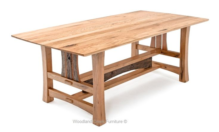 Contemporary Barn Wood Dining Table