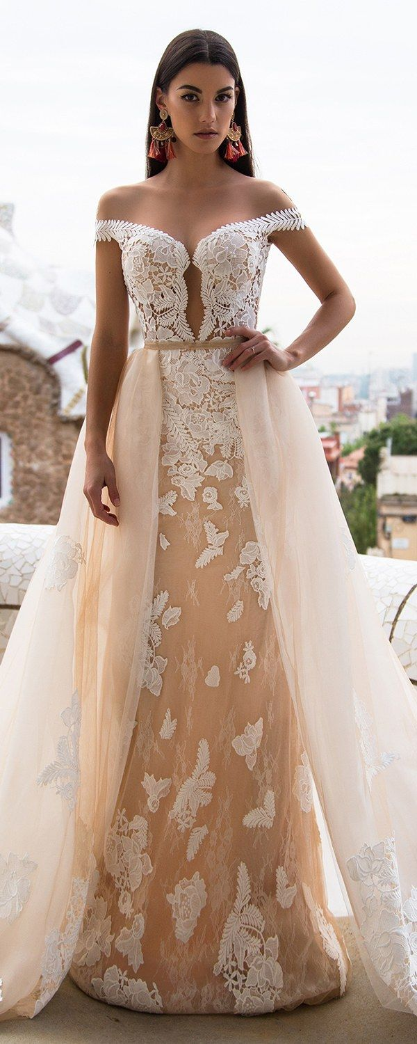 Milla Nova Bridal 2017 Wedding Dresses delicia / http://www.deerpearlflowers.com/milla-nova-2017-wedding-dresses/