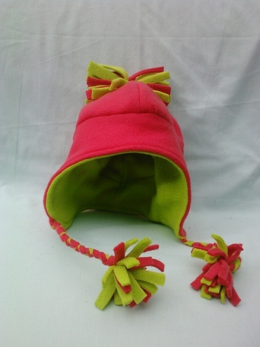 'Fleece ear flap hat' is going up for auction at  6pm Fri, Aug 31 with a starting bid of $10.