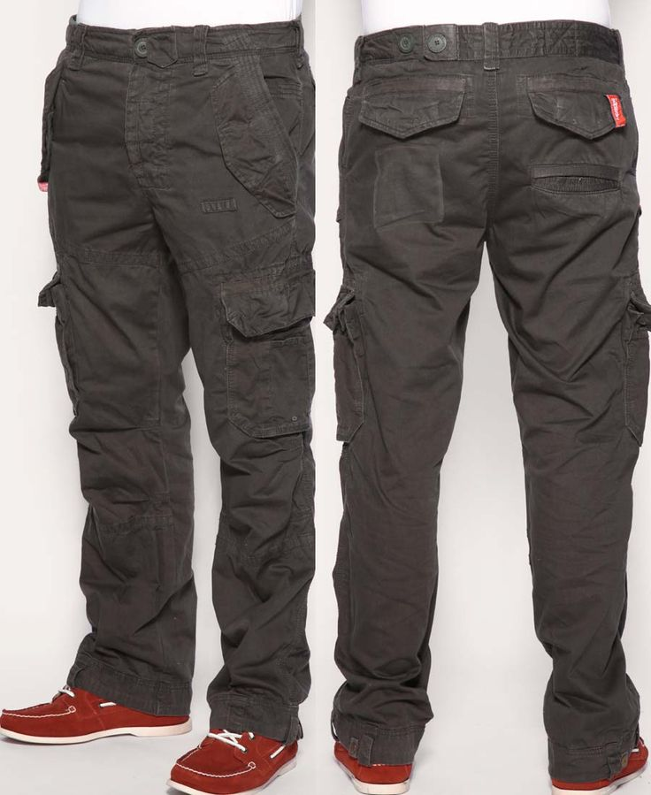 Cargo Pants in Charcoal