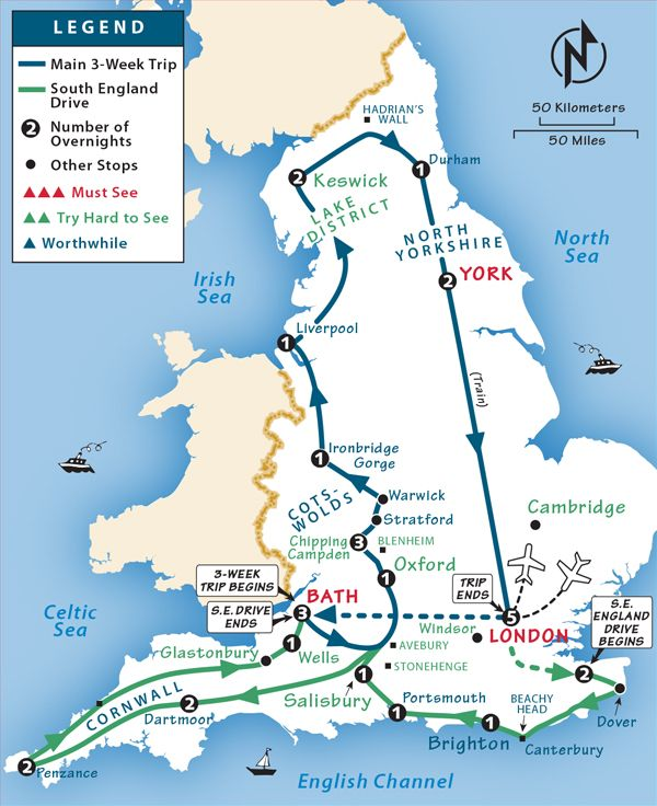 Where Is London On The Map Of England.England Itinerary Where To Go In England By Rick Steves Uk 2018