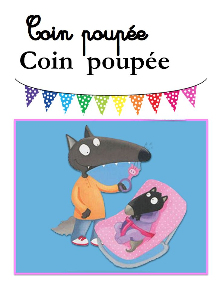 Coin poupée Illustration Éléonore Thuillier
