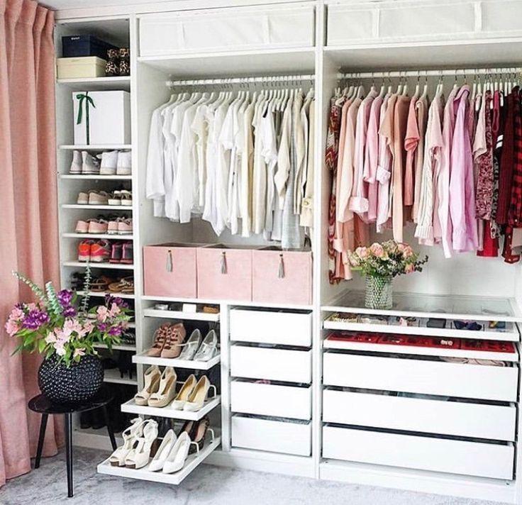 Solid High Neck Long Sleeve Ruched Dress Fashion Closet Apartment Closet Decor Ikea Closet