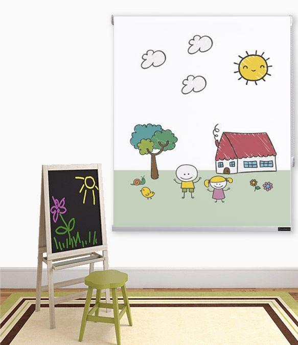 Nuevos modelos de estores infantiles cortinadecor - Estores para ninos ...