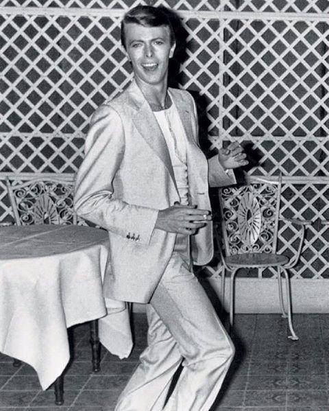 David at Cannes Film Festival in 1978. ✨ . {#davidbowie #bowie #davidrobertjones #1978 #70s #icon #rock #legend}