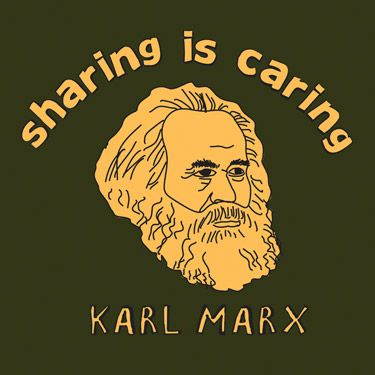Karl Marx T-Shirt by Mental Floss