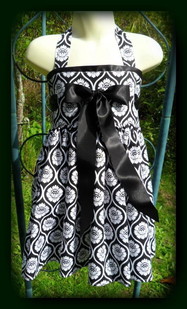 Bow Tie Halter Dress