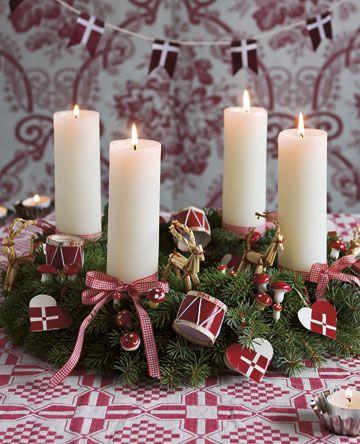 Klassisk adventskrans // Danish Christmas