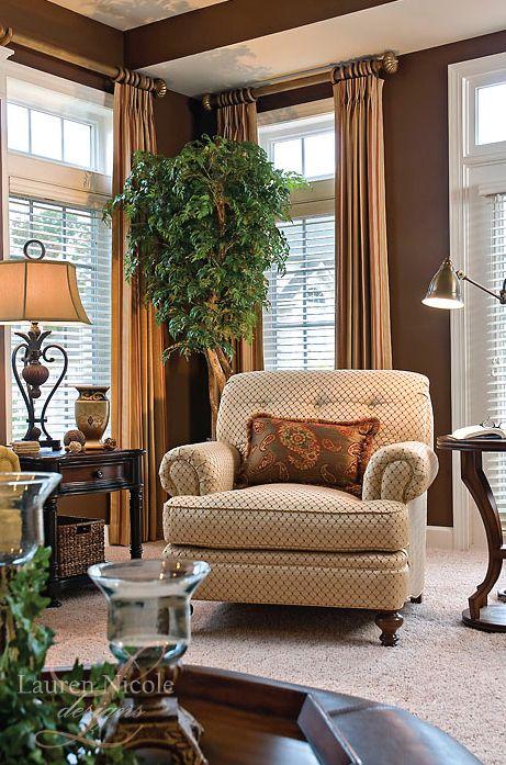 Neutral and understated family room design #interiordesign #decor