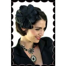 Black Flower Headband - $15.95