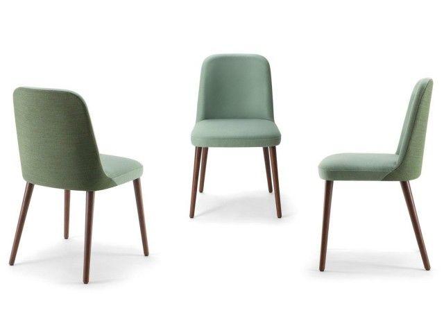 Die 50s sind zurück. Mit dem Esszimmerstuhl Dosso im 2er-Set hast du die richtige Wahl getroffen! Die Stühle sind im Vintage Style mit Holzbeinen. Der Stoffbezug ist in vielen angesagten Farben erhältlich. Individuelle Farbkombinationen sind möglich. Die Daten: Sitzhöhe 46,5cm Höhe: 78,5cm Breite: 48cm Tiefe: 54cm Stuhlbeine Massivholz, viele Farben