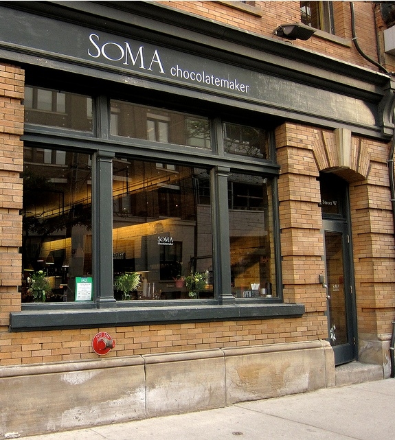 SOMA chocolatemaker | Toronto - Had to put this up - Great chocolate too! - So many buildings in this area and such a lack of inspirational design... - There's hope yet as more entering the city -