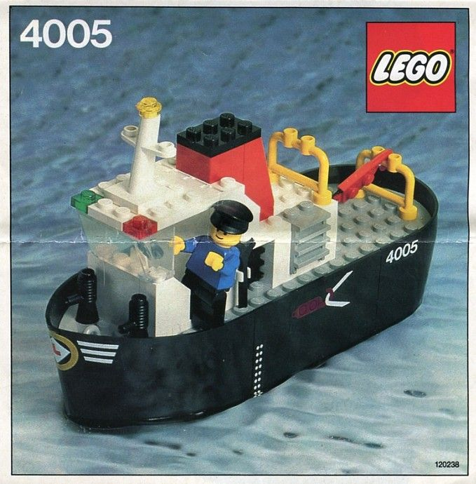 4005 - Tug Boat | Brickset.com ---- Lego is so awesome.