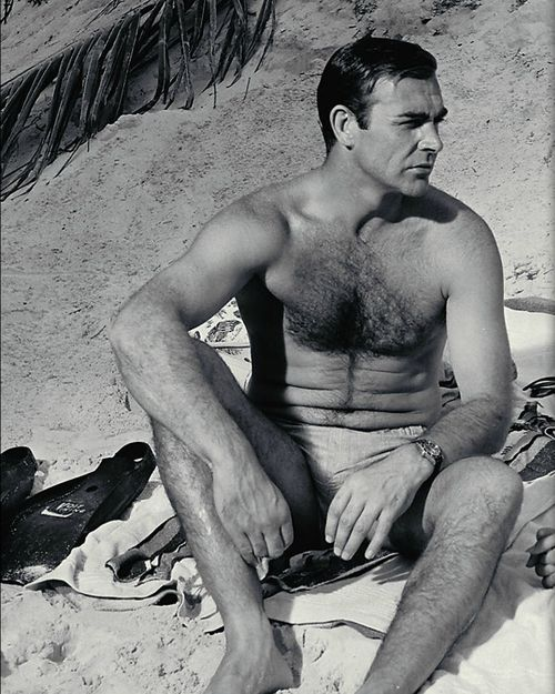 .Sean Connery this man was beyond sexy I don't know what words to use.