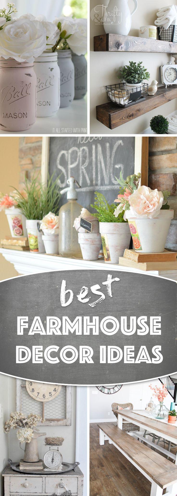 19 awe inspiring farmhouse decor ideas to transform your for Ideas economicas para el hogar
