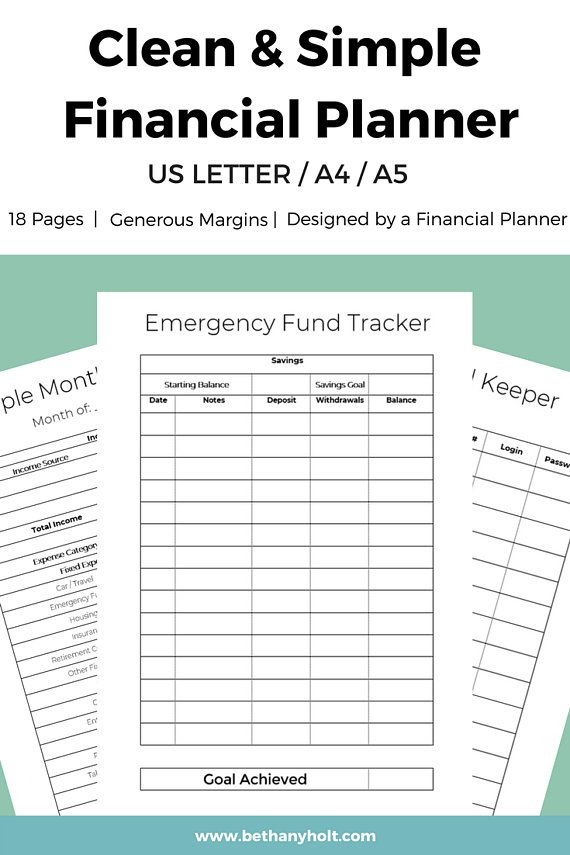 personal financial budget planner simple budget planner printable