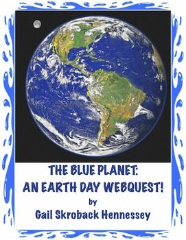 NOT JUST FOR EARTH DAY.Learn about the history of Earth Day and, our planet, EARTH, with this informative web quest.  There are 15 web questions as well as comprehension questions and a Did You Know? fun fact section. The teacher page includes extension activities, the key, and additional links. Great for a Friday activity!