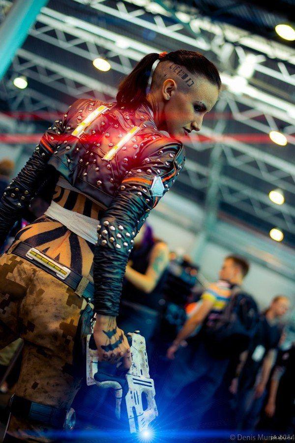 Jack (Mass Effect 3) моему единственному подписчику)  mass effect, mass effect 3, Starcon, старкон 2014, Косплей