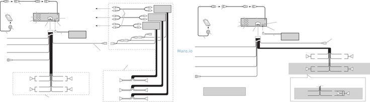 Pioneer Deh 17 Wiring Diagram In 2020 Pioneer Decks Baseboard Heater Pioneer Radio