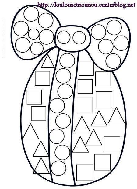 Gommette oeufs paques activit s manuelles pour enfants maternelle paques bricolage de - Oeufs paques maternelle ...