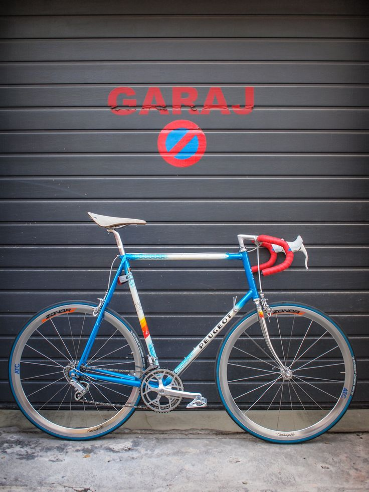 rare Peugeot frame with Columbus Aelle tubing, with Campagnolo Victory groupset, Brooks C17 saddle and Campagnolo Zonda wheelset upgrade by Atelier Onest, Bucharest, RO