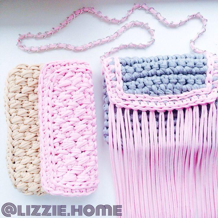 Lizzie Home. Вязание. Трикотажная пряжа