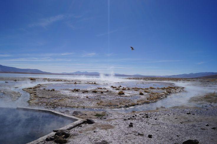 Salar de Uyuni, aguas termales