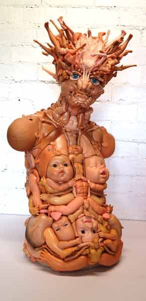 Toy Sculpture by Freya Jobbins