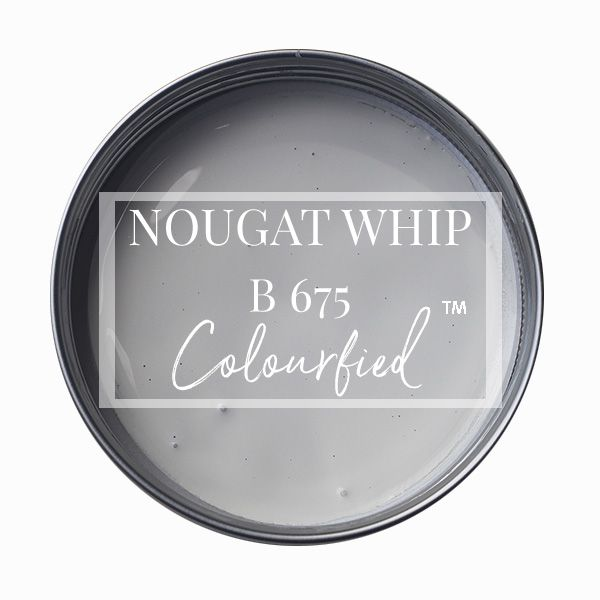 Colourfied's new colour - Nougat Whip