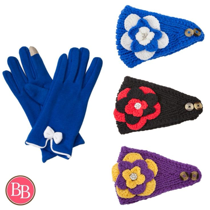 **It's GAME DAY** Stay warm and look cute all while showing off your Team Spirit!! Game Day Headwraps and Game Day Gloves NOW at BB!!! #BBGirls #GameDay #tailgatetime #gloves #headwraps {www.brandisboutiqueshop.co}