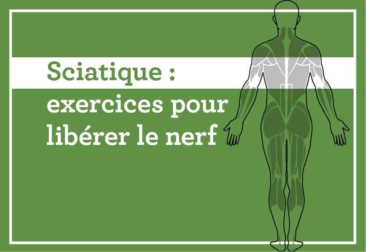 Sciatique : exercices pour libérer le nerf