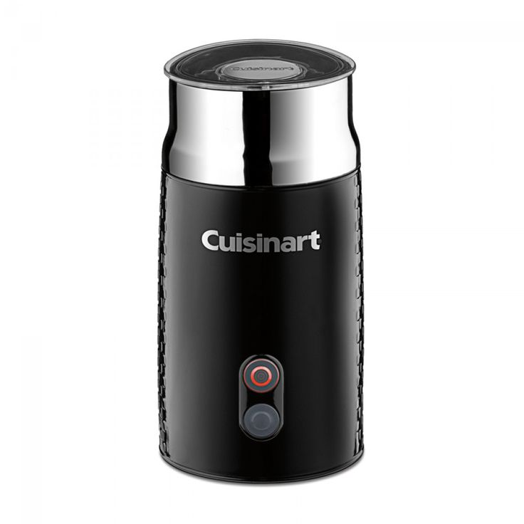Cuisinart Tazzaccino Milk Frother | Make lattes, cappuccinos & hot chocolates at home with the help of the Cuisinart Milk Frother! Produces hot frothed milk in just over 1 minute.