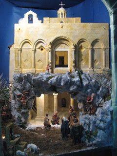 Presepi artigianali & diorami di Giuseppe Barreca: PRESEPE 2010: BASILICA DI SANTA MARIA MAGGIORE DI SIPONTO