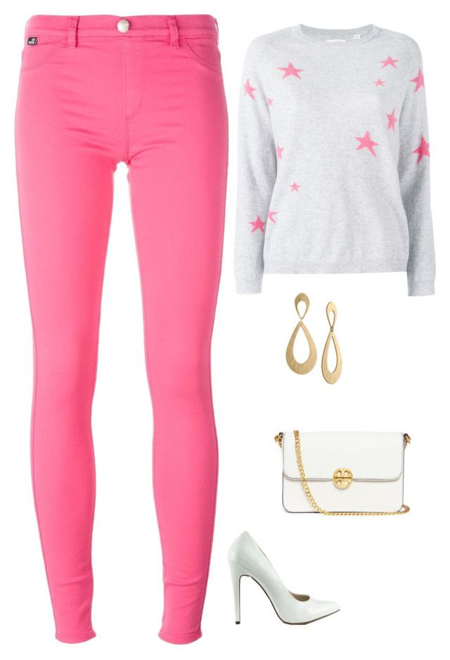 """""""Untitled #1842"""" by netteskytte on Polyvore featuring Michael Antonio, Chinti and Parker, Love Moschino, Tory Burch and Rachel Rachel Roy"""