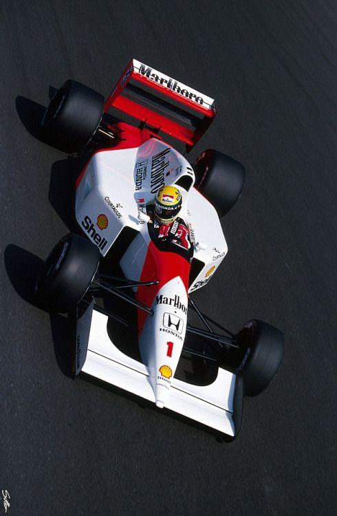 """ 1992, Italien GP, Monza, Ayrton Senna, McLaren """