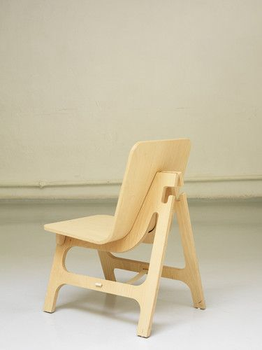 """Nice chair, but the main 'seat' is going to need to be moulded plywood, so it can't be a complete CNC cut unless you build the ply manually out of 1/8"""" wood, and cut it to perfectly match the amount used in the bend, which seems more work then just finishing it off on a bandsaw."""