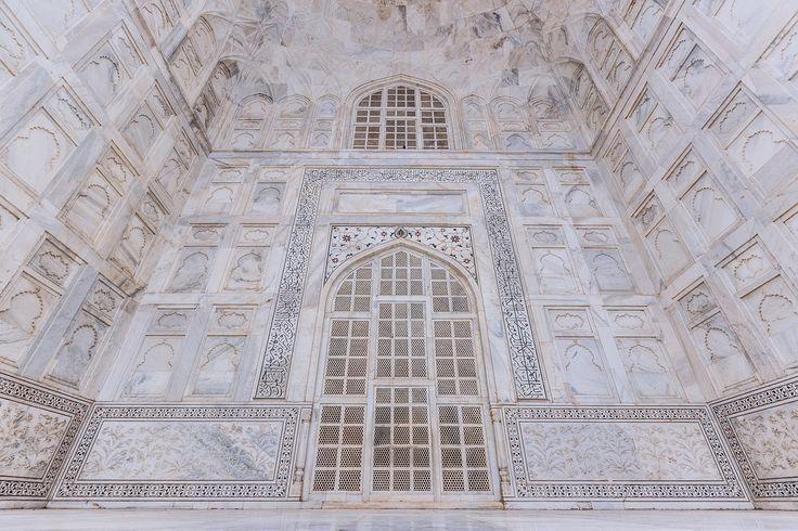 Details of The Taj - Taj Mahal in Agra, Uttar Pradesh, India.  <a…