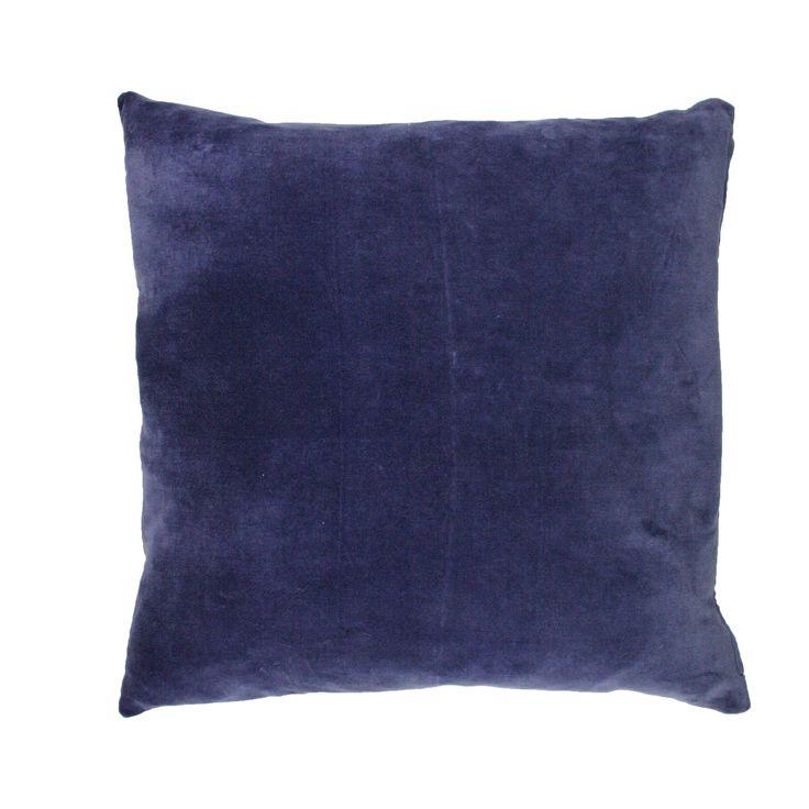 Putetrekk Velvet Blå