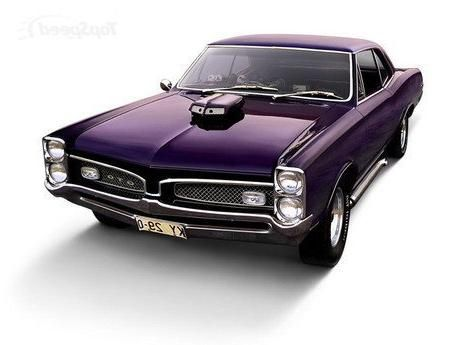 Vintage cars - 67 GTO